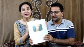 Unboxing Silver Play Button || Iman and Moazzam || News Views & Updates