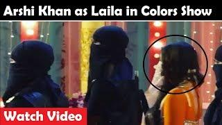Arshi Khan Dances on Laila Mai Laila in Savitri Devi College and Hospital | Watch Video | FCN