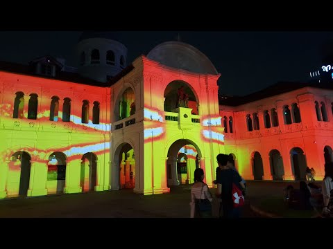 Interactive Night Light installations at the Singapore Night Festival 2018