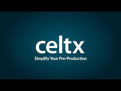Celtx - Simplify Your Pre-Production