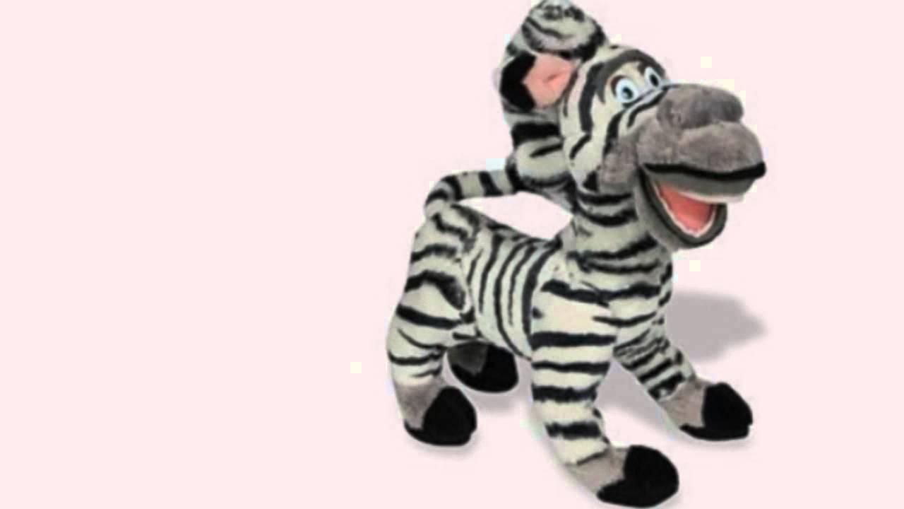 Uncategorized Madagascar Zebra madagascar plush marty zebra youtube