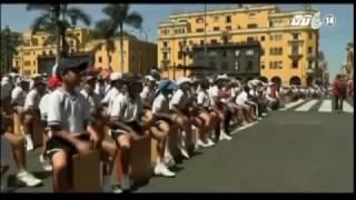 (VTC14)_Peru lập kỷ lục chơi trống Cajon