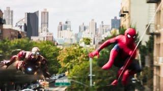 """親愛なる隣人""""スパイダーマンの活躍を描くアクション大作。スパイダーマ..."""