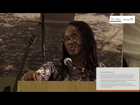 2017 International Women's Day commemorative Lecture with Tsitsi Dangarembga