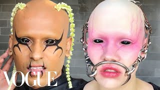 Inside Fecal Matter's Extreme Beauty Routine | Vogue