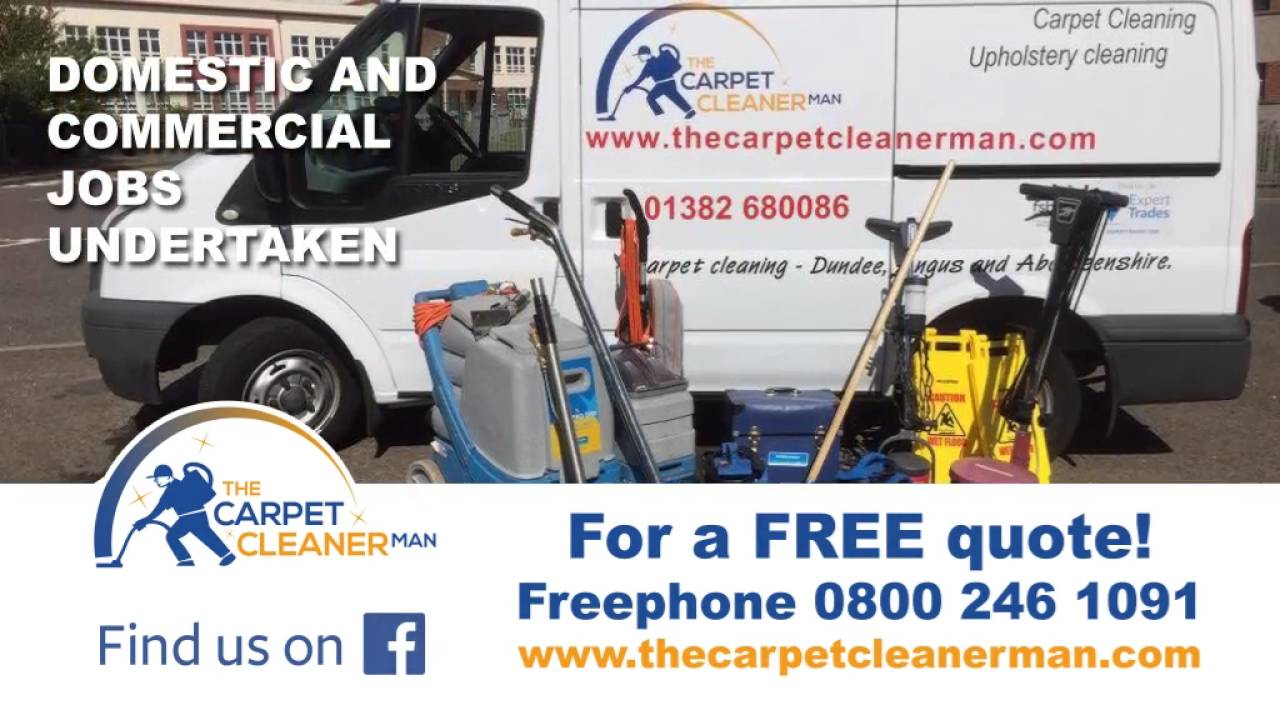 The Carpet Cleaner Man - Dundee & Angus carpet cleaning service
