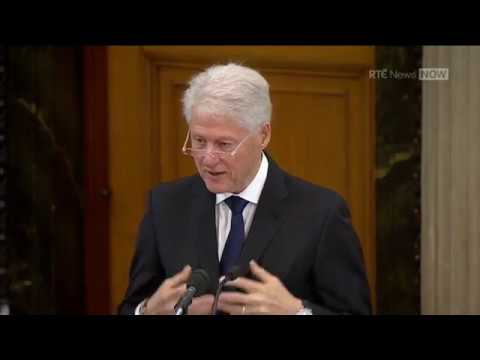 Bill Clinton - eulogy at funeral of Martin McGuinness