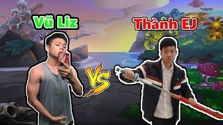 Dragon City || Thăm Đảo Youtuber Thành EJ  || Vũ Liz Mobile