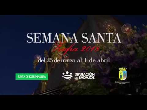 Video promocional Semana Santa 2018 de Zafra
