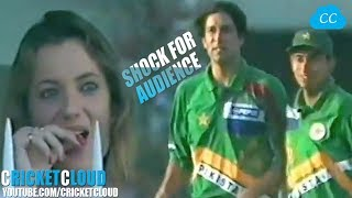 Wasim Akram's Insane Swinging 3 Wickets in 1 Over Shocked the Audience & Batsmen !!