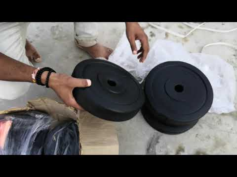 Protoner 30 KG Home Gym Set Unboxing And Overview In Hindi [ हिन्दी ]