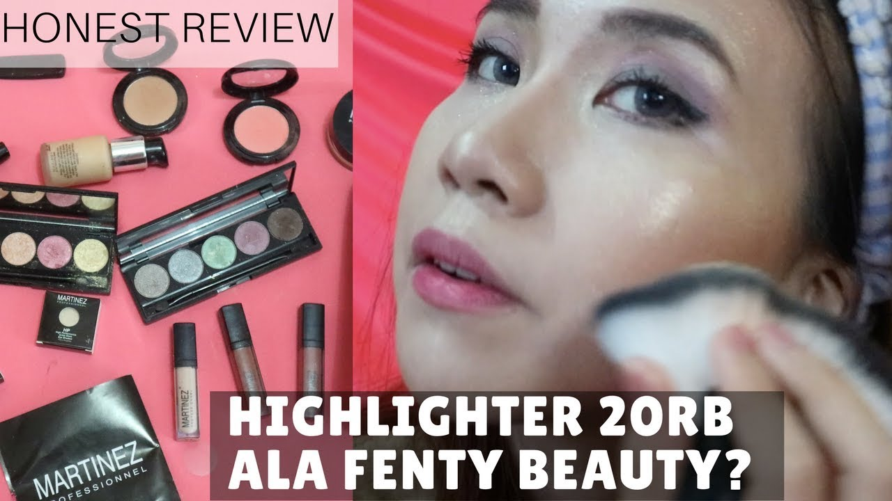 MARTINEZ (LOCAL BRAND) MAKEUP HAUL! PRODUCTS REVIEW + TUTORIAL