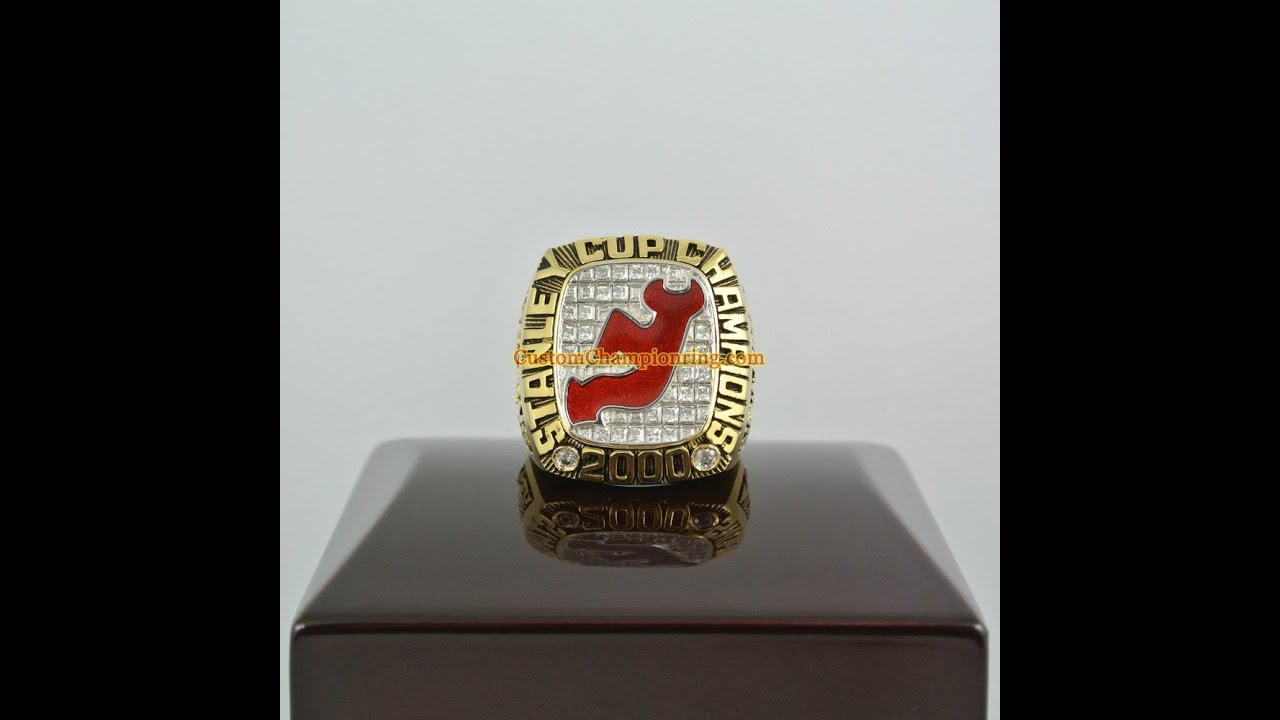 2000 New Jersey Devils Stanley Cup Championship Ring - YouTube b9f40d286