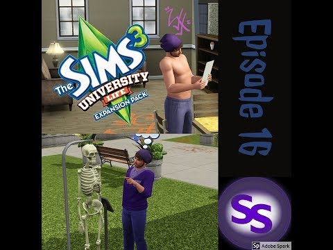 Sims 3 - Generation 2: University Episode 16  SCIENCE DEGREE!
