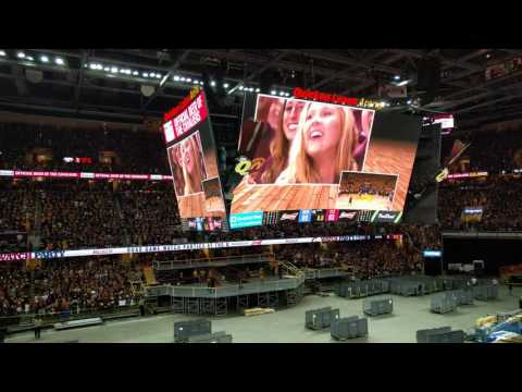 Final Moments Of The 2016 NBA Finals Game 7 Inside Quicken Loans Arena!