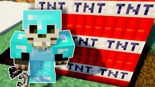 We TNT to the Bottom of the World! - Minecraft Multiplayer Gameplay