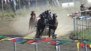 Chariot Race Kikino Rodeo 2009