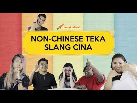 Non-Chinese Teka Slang Cina