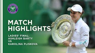 Ashleigh Barty vs Karolina Pliskova | Ladies' Final Highlights