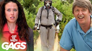 Best of Fire Pranks | Just For Laughs Compilation