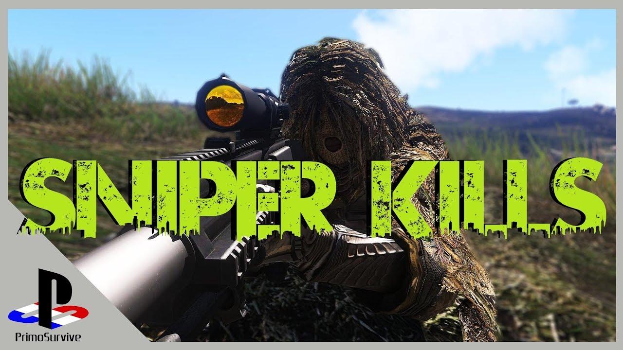 Fr Arma 3 Exile Pvp Top 5 Sniper Kills Youtube