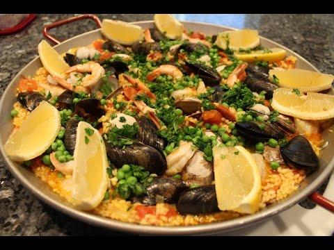 Seafood Paella Recipe – OrsaraRecipes