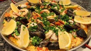 Seafood Paella Recipe - Orsararecipes