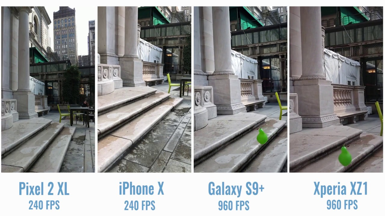 See How the Galaxy S9's Slow-Mo Video Compares to iPhone X