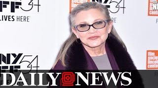 Carrie Fisher's Autopsy Reveals Cause Of Death Is 'Not Obvious'