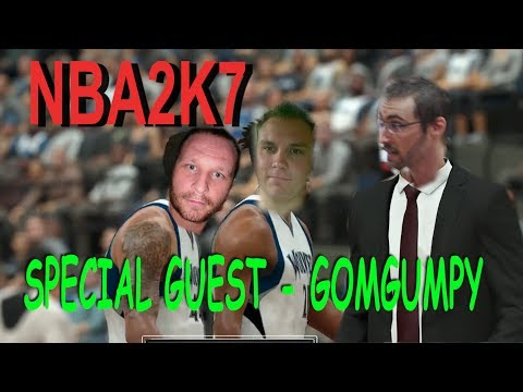 NBA 2k17 Lets Play - Minnesota Timberwolves v Golden State Warriors - Special guest GomGumpY