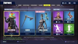 New Hollowhead Skin & Carver Pickaxe - Fortnite Battle Royale