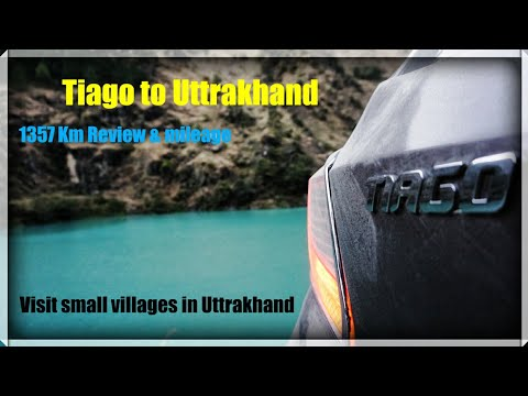 Tata Tiago - Small 1357 trip to Uttrakhand - Mileage, Suspension on bad road covered - drone shots