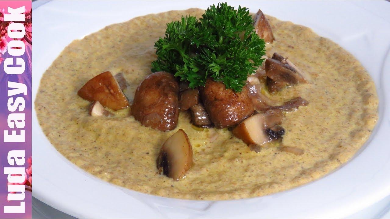 Ароматный и Нежный ГРИБНОЙ КРЕМ-СУП! Отменное блюдо для всей семьи! | Cream of Mushroom Soup Recipe