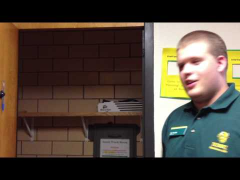 NDSU students react to the evacuation order - YouTube