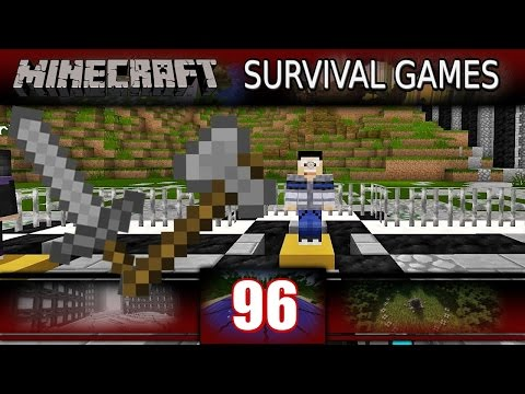 Minecraft - Survival Games - First Weapon Challenge! (Minecraft PVP)