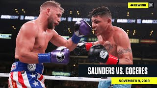 FULL FIGHT   Billy Joe Saunders vs. Marcelo Coceres (DAZN REWIND)