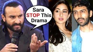 Saif Ali Khan ANGRY On Sara Ali Khan And Kartik Aryaan RELATION