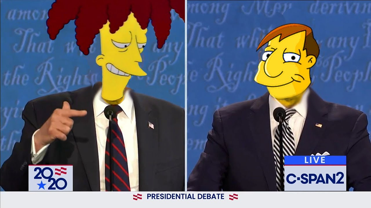 Biden Trump 2020 Mayoral Debate