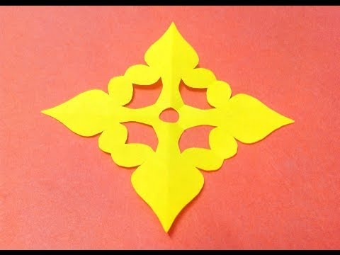 How To Make Kirigami Paper Cutting Patterns And Templates 8 Youtube