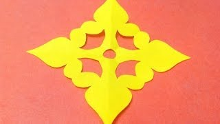 How to make KIRIGAMI paper cutting patterns and templates - 8