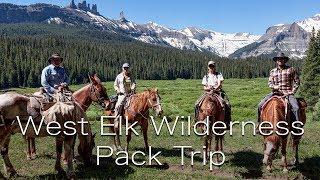 west elk wilderness pack trip