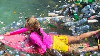 Великий мусорный остров в океане растет, загрязнение океана катастрофическое