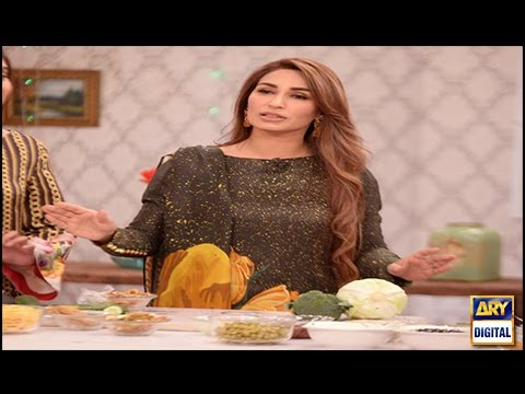 Reema Khan shares her diet plan in Good Morning Pakistan