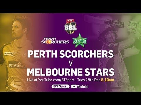 FULL MATCH: Perth Scorchers v Melbourne Stars (Dec 26, 2017) - BBL