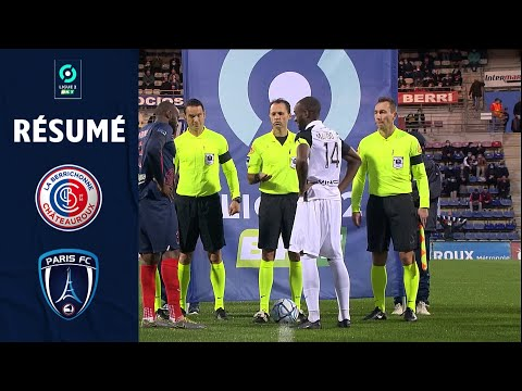 Chateauroux Paris FC Goals And Highlights