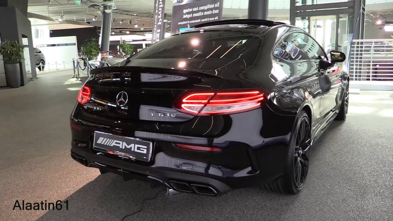 2017 Mercedes Amg C63 S Coupe Sound