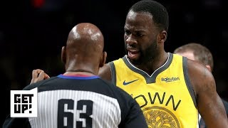 Is Draymond Green right about being officiated differently? | Get Up!