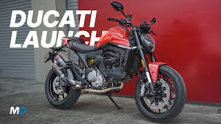 Download Ducati Monster 937, Supersport 950 and Panigale SP Launch - Behind a Desk