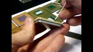 Как выпрямить погнутые ножки процессора после падения