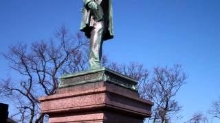 Abraham Lincoln Monument Old Calton Burial Ground Edinburgh Scotland